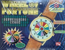 Wheel of Fortune Collectible Watch Or 1999 Jeopardy Musical Watch