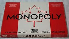 MONOPOLY Canadian Edition Board Game Parker Brothers French English Vintage