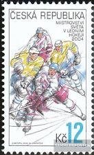 República Checa 392 (compl.edición) nuevo con goma original 2004 hockey sobre hi