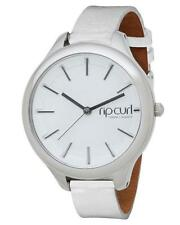 Rip Curl HORIZON MINI LEATHER WATCH Womens Waterproof Watch New - A2867G White