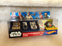 Hot Wheels Star Wars Heroes Of The Resistance 5 Pack Maz Kanata Exclusive