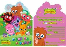 Party Invite 6 Moshi Monsters, Party/Props/Decorations/Supplies/Gifts