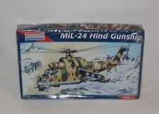 Vintage Monogram Model Kit Mil-24 Hind Gunship Seal MB  FREE SHIPPING