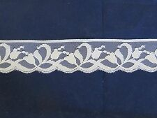 White lace 5 meters of lovely  4 cm wide lace ,Knickers , cammi, Craft, Cards