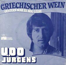 """7"""" Udo Jürgens – Griechischer Wein // Dutch 1974"""