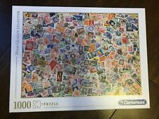 Puzzle Post Stamps 1000 pieces Clementoni BriefMarken