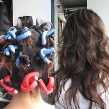 10PCS/Set Curler Makers Soft Foam Bendy Twist Curls DIY Styling Hair Rollers NEW