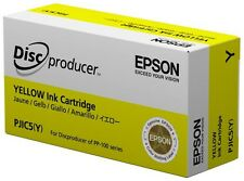 Epson Discproducer PP-100/PP-50 YELLOW Ink Cartridge (C13S020451) 1-Piece