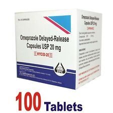 OTC OMEPRAZOLE 20mg, Heart Burn Relief, Acid Reducer Treatment (Free Shipping)