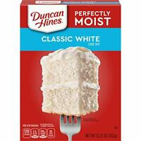 Duncan Hines Perfectly Moist Classic White Cake Mix, 15.25 OZ