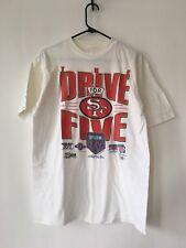Vintage San Francisco 49ers Forty Niners T-shirt Size Large 80s 90s Salem 1991