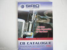 SIRIO CB catalogo solo............. radio_trader_ireland.