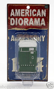 American Diorama - Vending Machine 1:24 Scale (Green)