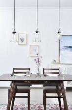 CHROME PENDANT LIVING DINING ROOM KITCHEN ISLAND HOME FIXTURE 3 LIGHT CHANDELIER
