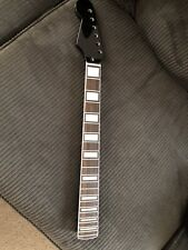 Left Handed Strat Neck Black With Pearl Block Inlays Never Used