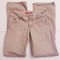 UNIONBAY Women's Juniors Size 3 Tan/Beige Stretch Pants