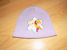 One Size Disney Frozen Anna and Elsa Purple Beanie Hat Winter Skull Cap NWOT