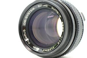 【 MINT 】 OLYMPUS OM-SYSTEM Zuiko Auto-S 50mm F1.4 MF Prime Lens From JAPAN