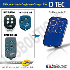 Télécommande copieuse DITEC GOL4 BIX LP2 BIX LG4 BIP ROLLING CODE Portail garage