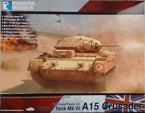Rubicon 1/56 (28mm)  RB280025 British Cruiser Mk.VI (A15) Crusader tank  kit