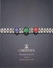 CHRISTIE'S GENEVA JEWELS Chaumet Gubelin Hatot Pederzani Webb Cufflinks Catalog
