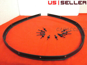 FOR Dodge Challenger Front Hood Bumper Weatherstrip Seal And Rivets NEW OEM