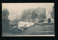 Somerset CROWCOMBE General view Used 1913 PPC mailed from fine postmark