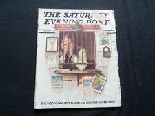 1937 APRIL 24 THE SATURDAY EVENING POST MAGAZINE - NORMAN ROCKWELL COVER-SP 1690
