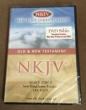 Holy Bible: New King James Version (NKJV) Old & New Testament (DVD, 2-Discs) NEW
