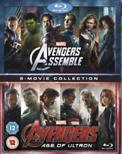 Avengers Assemble/ Avengers Age Of Ultron. Pack [Blu-Ray] [Region Free] NEW