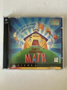 Sierra's School House - Math Grades 2-5 PC CDROM 1996 for Win 95 98 XP