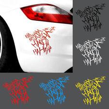 Hahaha Joker Sticker Decal Emblem Vinyl For Car Truck Bike Helmet Laptop Bag