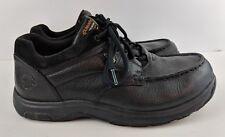 Mens Black Dunham Exeter Low 8017BK Waterproof Slip Resistant Size 9.5 4E