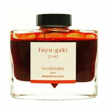 Pilot Namiki Iroshizuku Fountain Pen Ink 50ml Bottle fuyu-gaki INK-50-FG