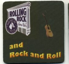 Rolling Rock Beer - Rock and Roll -  COASTER - Extra Pale Ale Bier