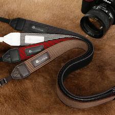 MATIN Stripe-38 (Brown) DSLR SLR RF Mirrorless Camera Neck Shoulder Strap Belt