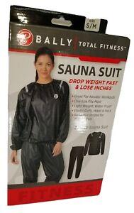 BALLY Total Fitness Sauna Suit. 2 Piece Sauna Suit. Size S/M. Drop Weight Fast.