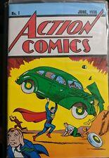 Superman Action Comics 1 Reprint w Coa Loot Crate Exclusive Replica New