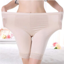 Ladies Leggings Modal Underwear Body Slim Lace Safety Shorts Pants Plus Size