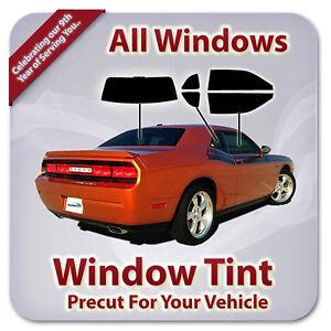 Precut Window Tint For Chevy Cavalier 2 Door 1995-2005 (All Windows)