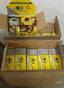 380 X 3M NEW Retractable Metal Tape Measure Lock Metric Imp Bulk Wholesale Lot
