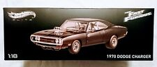 Hot Wheels Elite Fast And furious 1970 Dodge Charger
