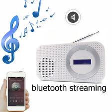 Portable DAB/DAB+ Radio bluetooth Digital Pocket FM RDS LED Speaker AUX Input VH