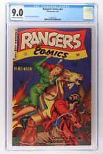 Rangers Comics #64 - Fiction House 1952 CGC 9.0 - Highest Grade!
