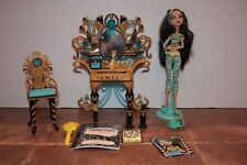 Monster High Dead Tired Cleo De Nile with Vanity set and accessories