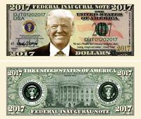 DONALD TRUMP BILLET MILLION DOLLAR US ! Collection President Etats Unis USA 2017