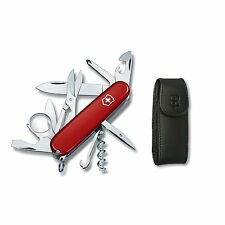 Victorinox Swiss Army Knife - Explorer and Free Pouch - Red -  Free Shipping