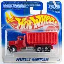 Hot Wheels Peterbilt Workhorse Dump Truck Short Card Mint Opened Not Sealed 1995
