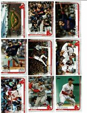 2019 TOPPS BOSTON RED SOX ALL-STAR GAME FOIL SET 2018 WORLD SERIES BETTS DEVERS