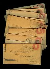 30+ Tennessee 1862-64 Covers to Daniel Stewart in NY re: Tobacco Sales/Smuggling